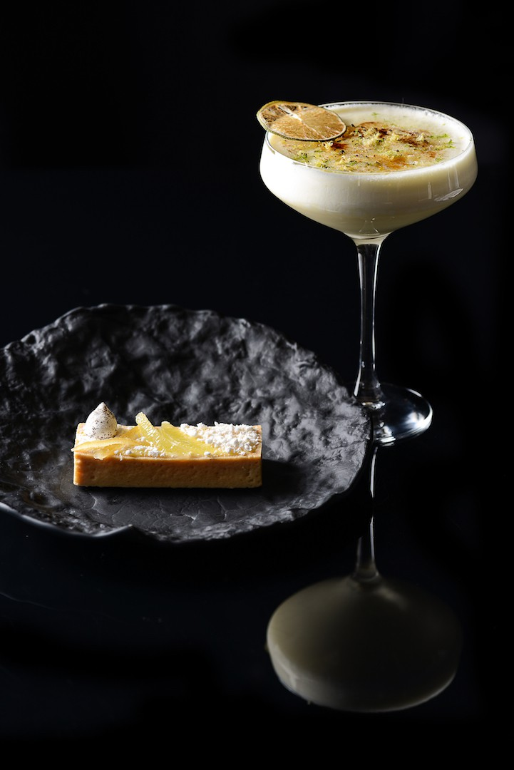 Tarte aux citrons de Menton - Cocktail